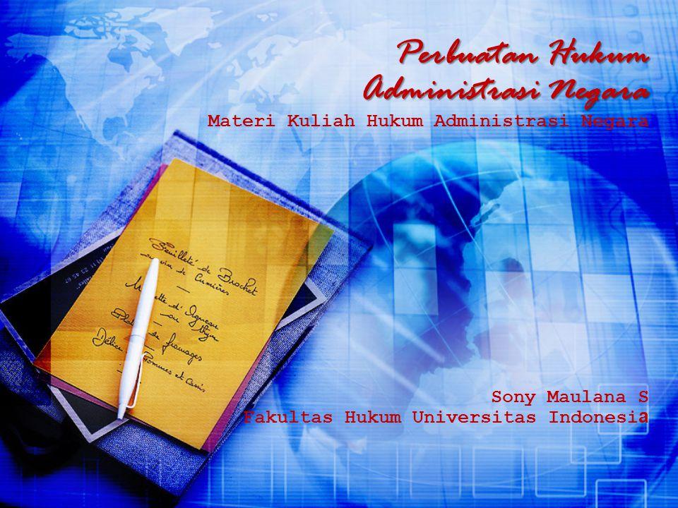 Sony Maulana S Fakultas Hukum Universitas Indonesia