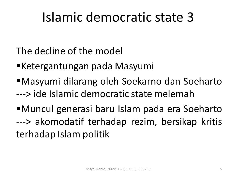 Islamic democratic state 3