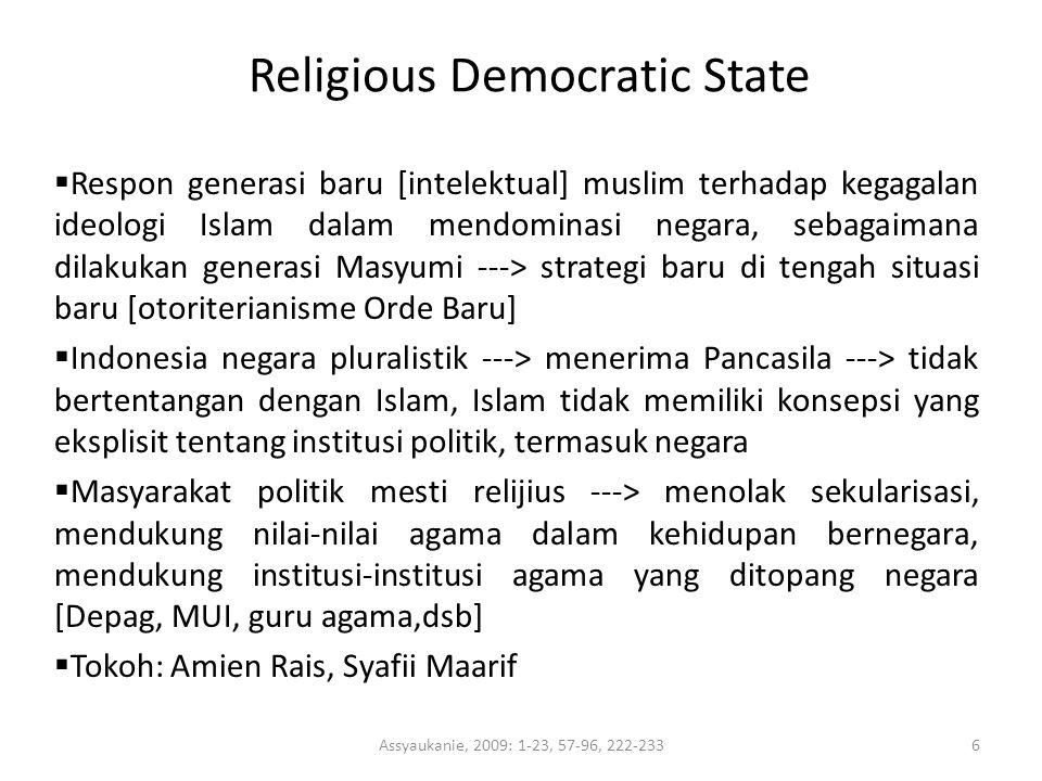 Religious Democratic State