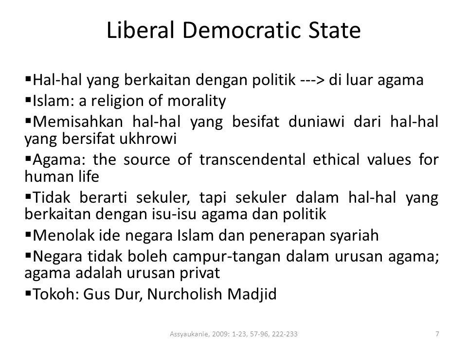 Liberal Democratic State