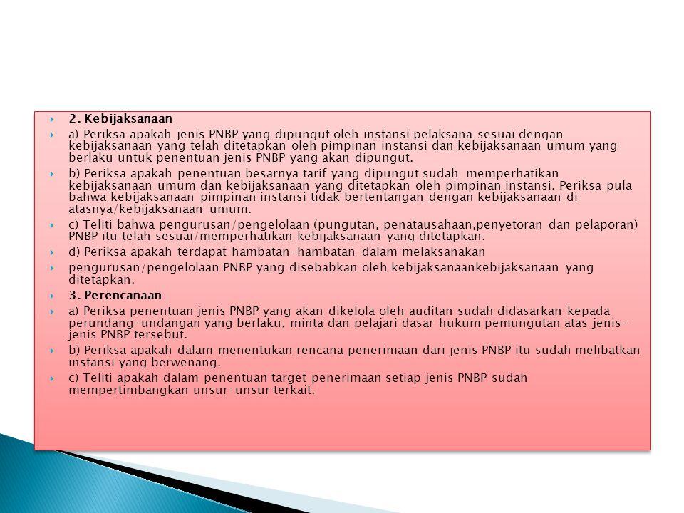 2. Kebijaksanaan