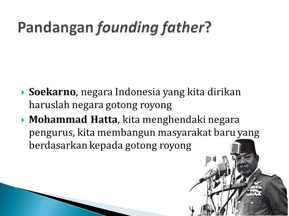 Pandangan founding father