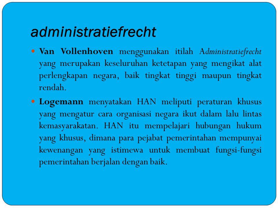 administratiefrecht