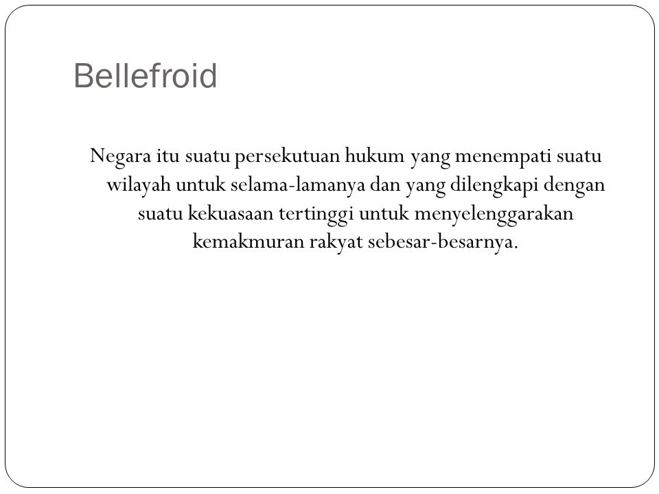 Bellefroid