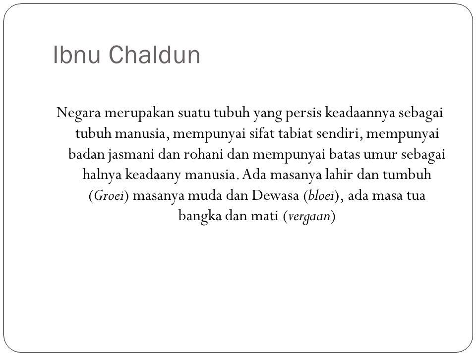 Ibnu Chaldun