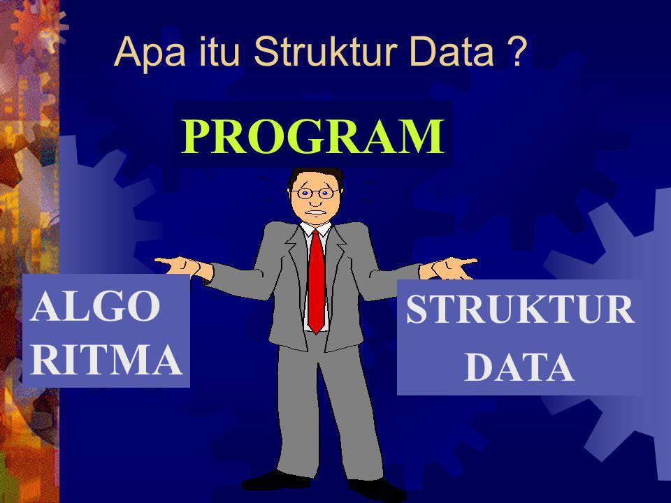 Apa itu Struktur Data PROGRAM ALGO RITMA STRUKTUR DATA