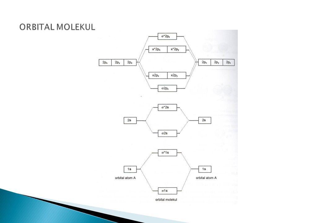 ORBITAL MOLEKUL