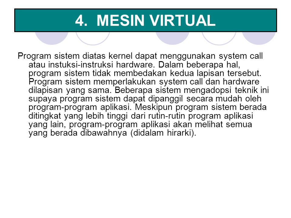 4. MESIN VIRTUAL