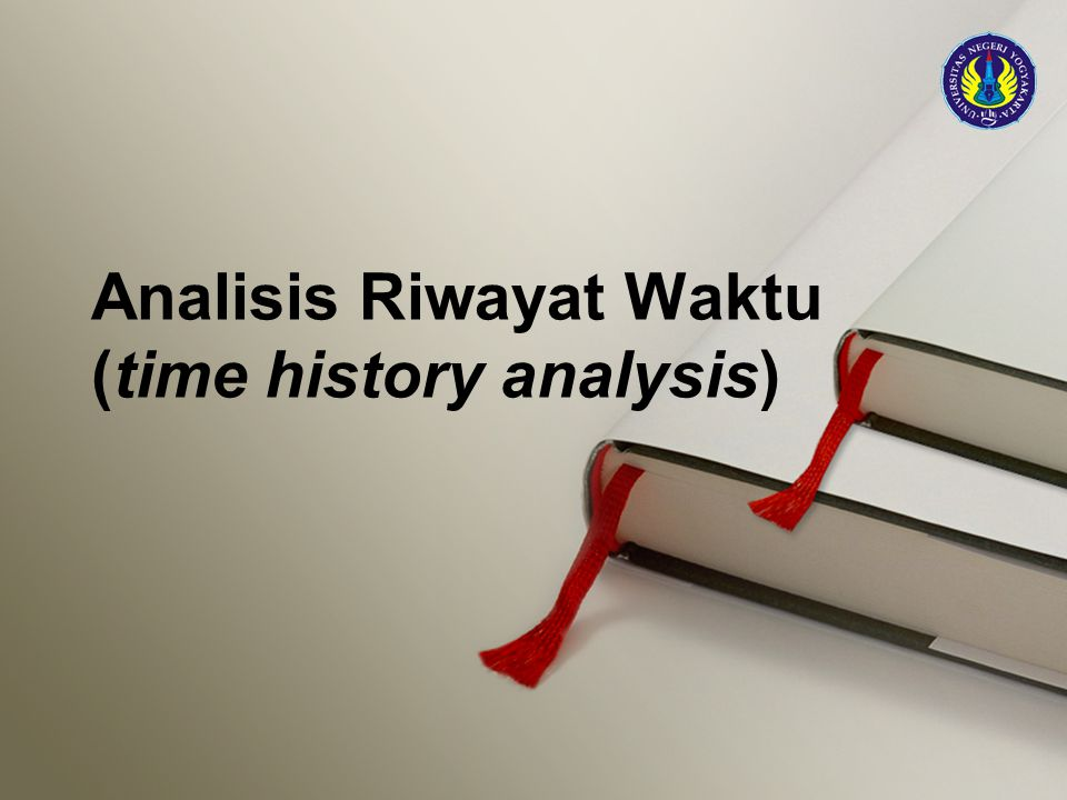 Analisis Riwayat Waktu (time history analysis)