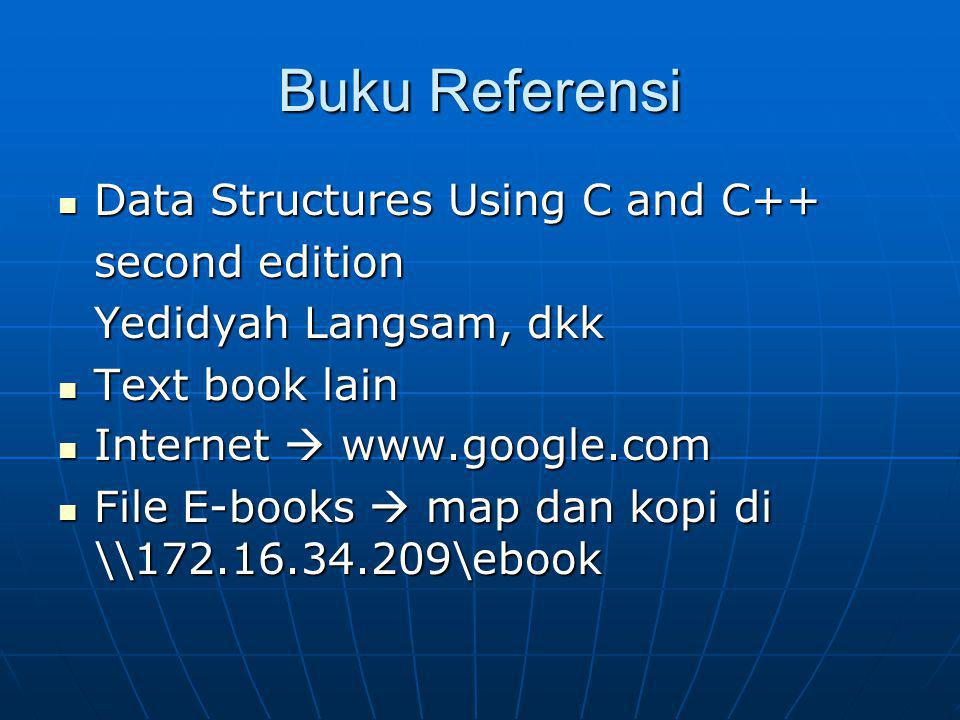 Buku Referensi Data Structures Using C and C++ second edition