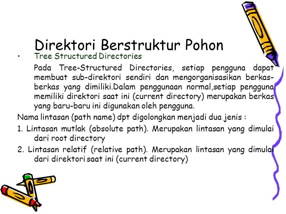 Direktori Berstruktur Pohon
