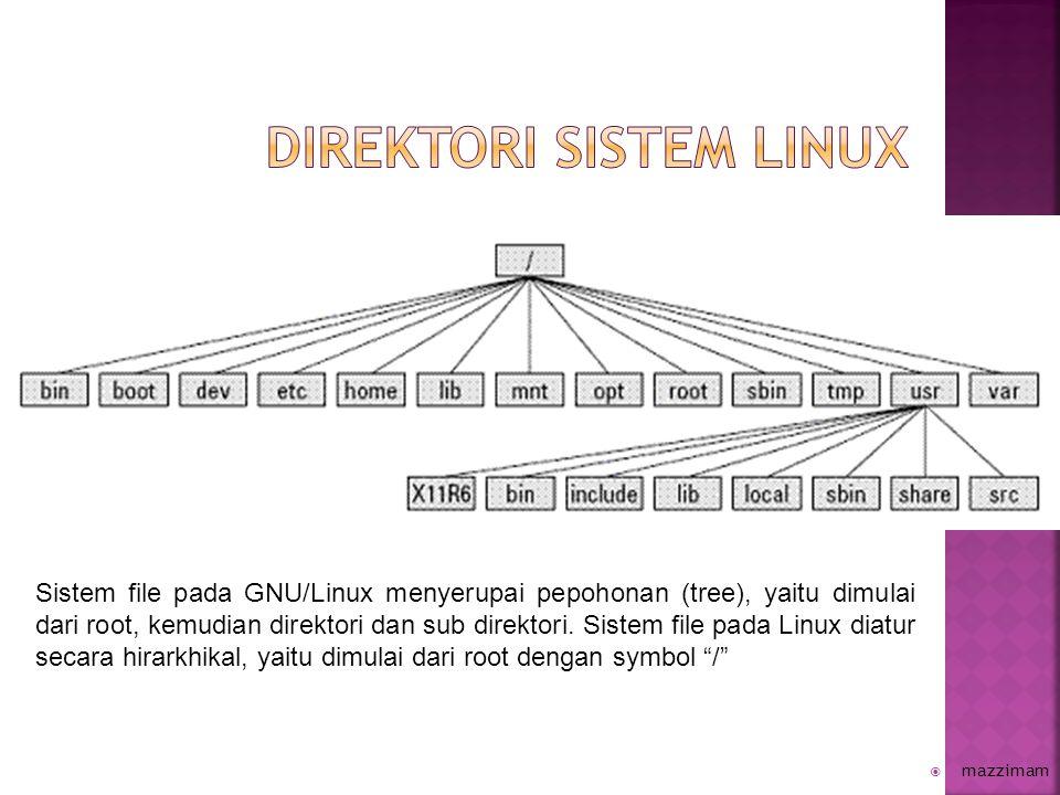Direktori sistem linux