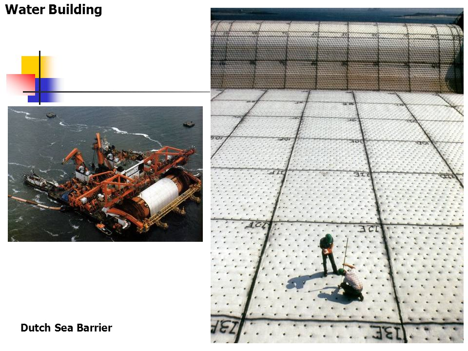 Water Building Dutch Sea Barrier