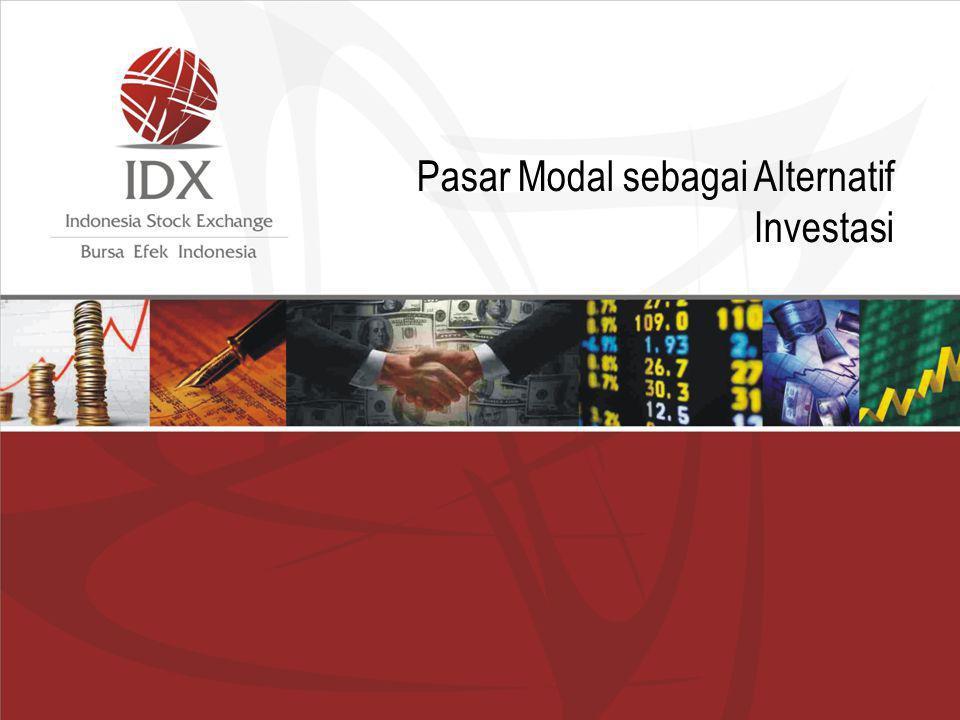 Pasar Modal sebagai Alternatif Investasi