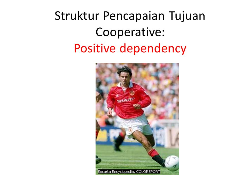 Struktur Pencapaian Tujuan Cooperative: Positive dependency