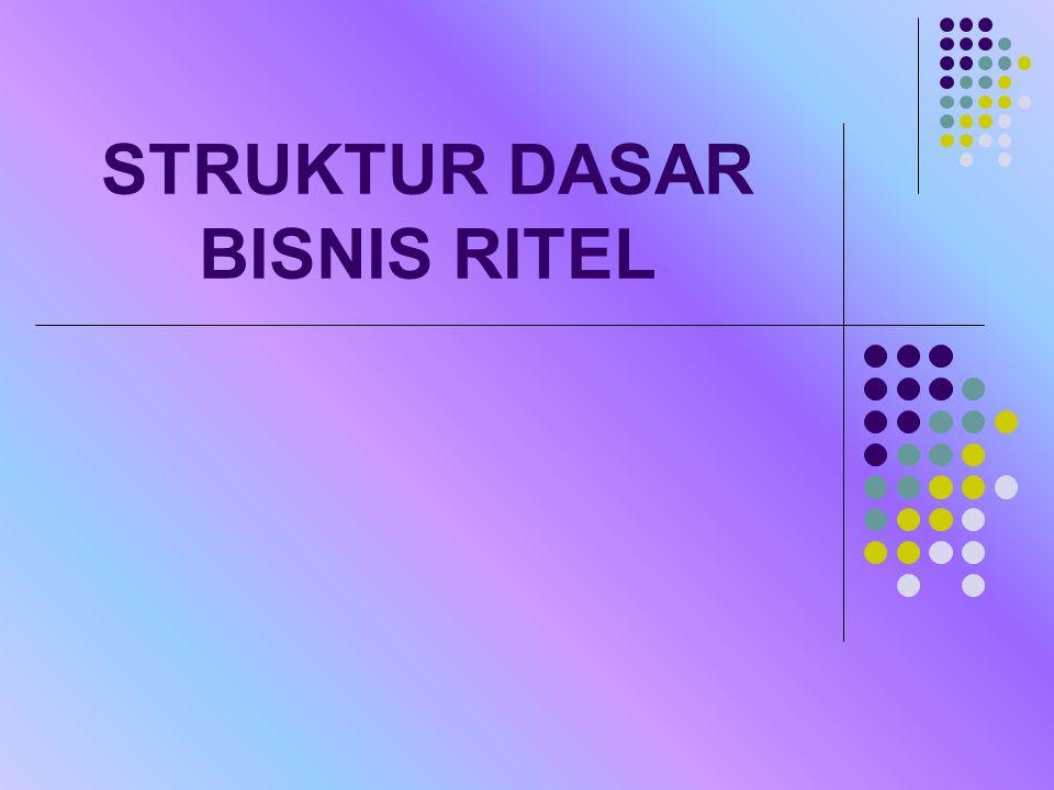 STRUKTUR DASAR BISNIS RITEL