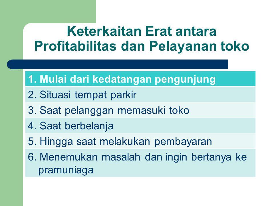 Keterkaitan Erat antara Profitabilitas dan Pelayanan toko