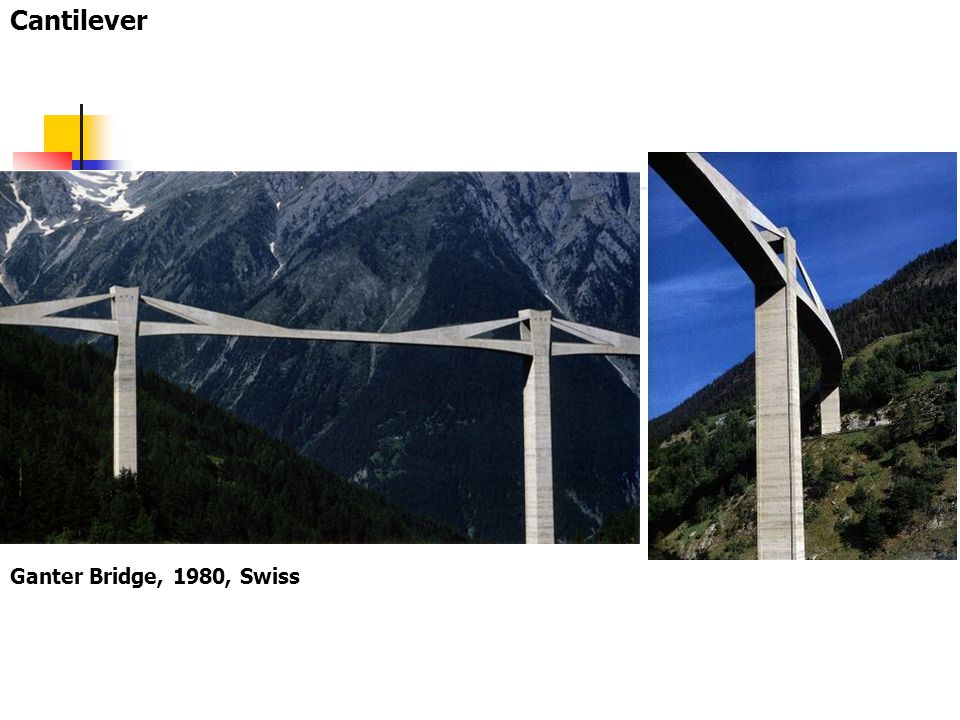 Cantilever Ganter Bridge, 1980, Swiss