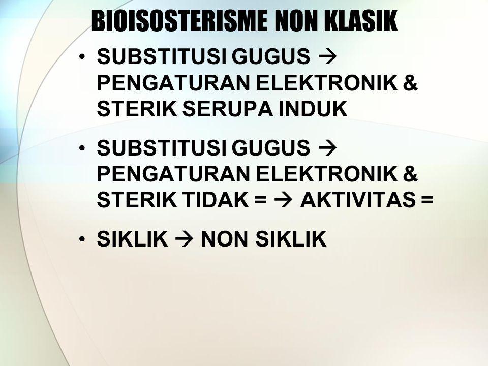 BIOISOSTERISME NON KLASIK
