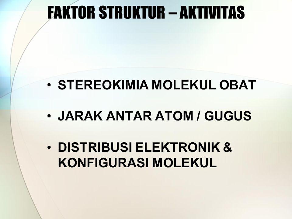 FAKTOR STRUKTUR – AKTIVITAS