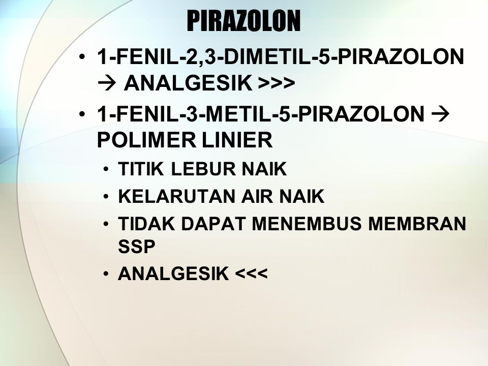 PIRAZOLON 1-FENIL-2,3-DIMETIL-5-PIRAZOLON  ANALGESIK >>>