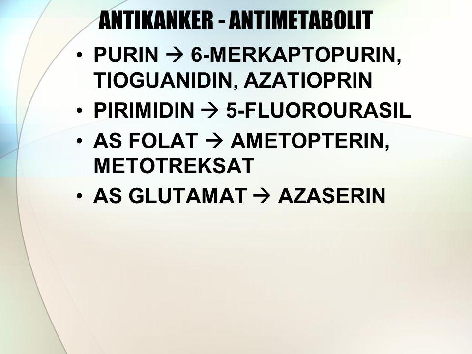 ANTIKANKER - ANTIMETABOLIT