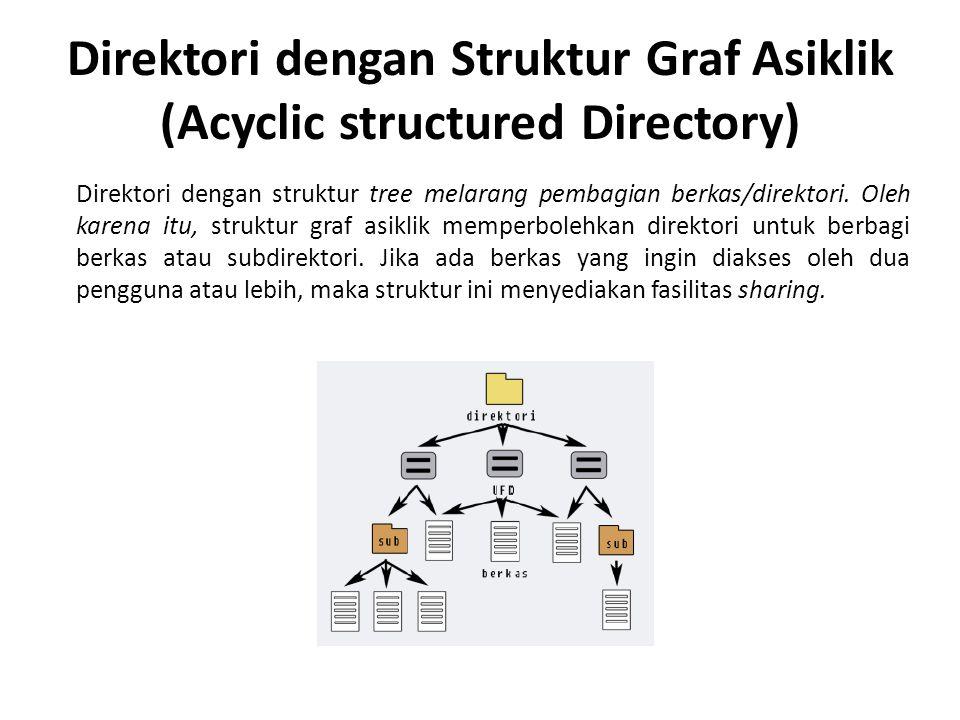 Direktori dengan Struktur Graf Asiklik (Acyclic structured Directory)