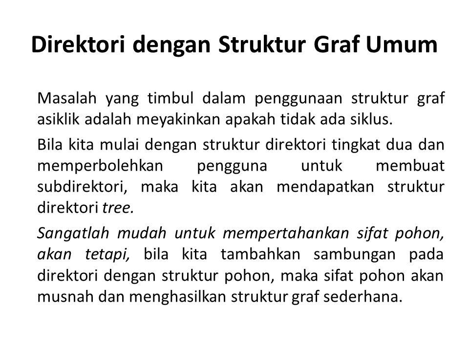 Direktori dengan Struktur Graf Umum