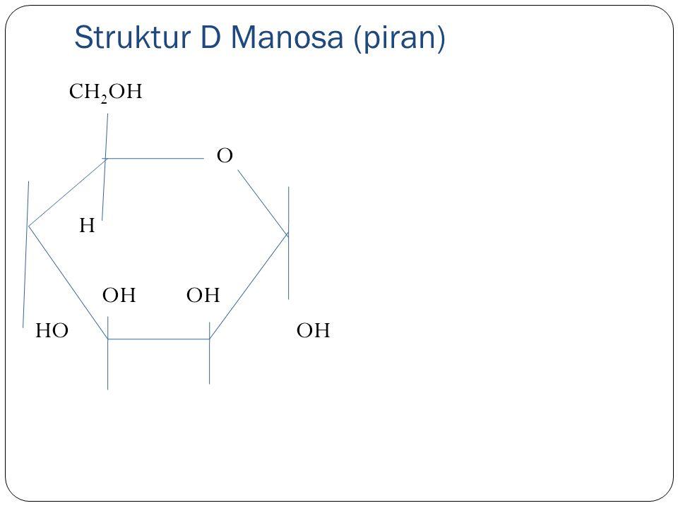 Struktur D Manosa (piran)
