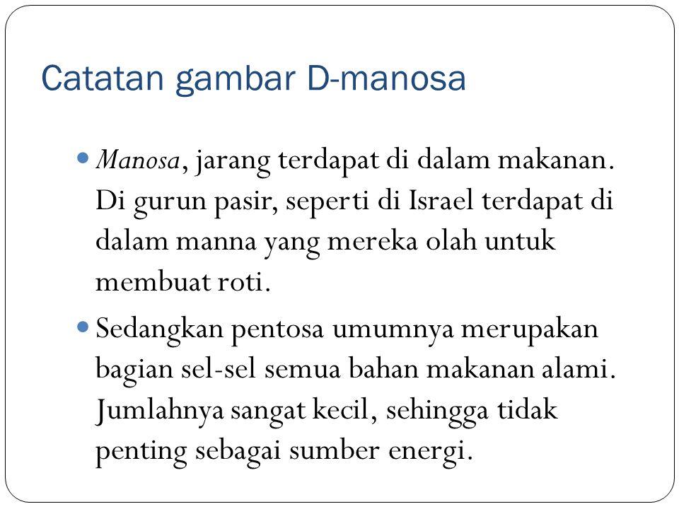 Catatan gambar D-manosa