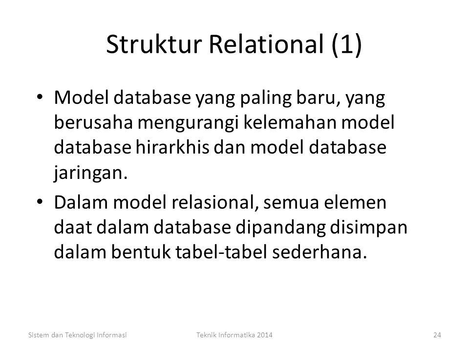 Struktur Relational (1)