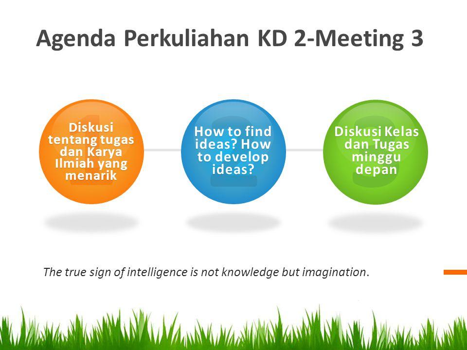 1 2 3 Agenda Perkuliahan KD 2-Meeting 3