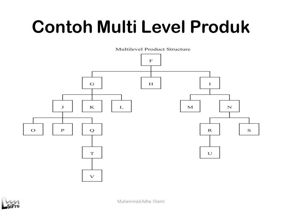 Contoh Multi Level Produk