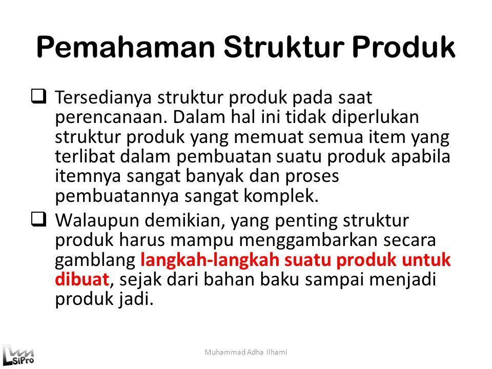 Pemahaman Struktur Produk
