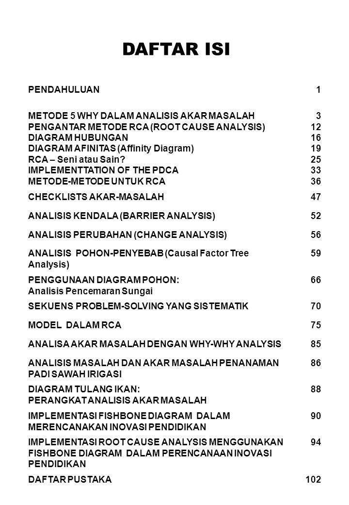 Rca metode root cause analysis analisis akar masalah ppt download 4 daftar ccuart Image collections