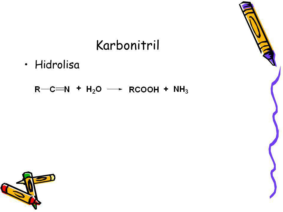 Karbonitril Hidrolisa