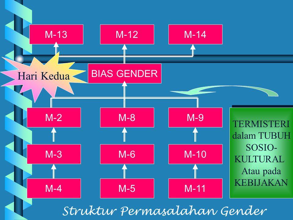 Struktur Permasalahan Gender