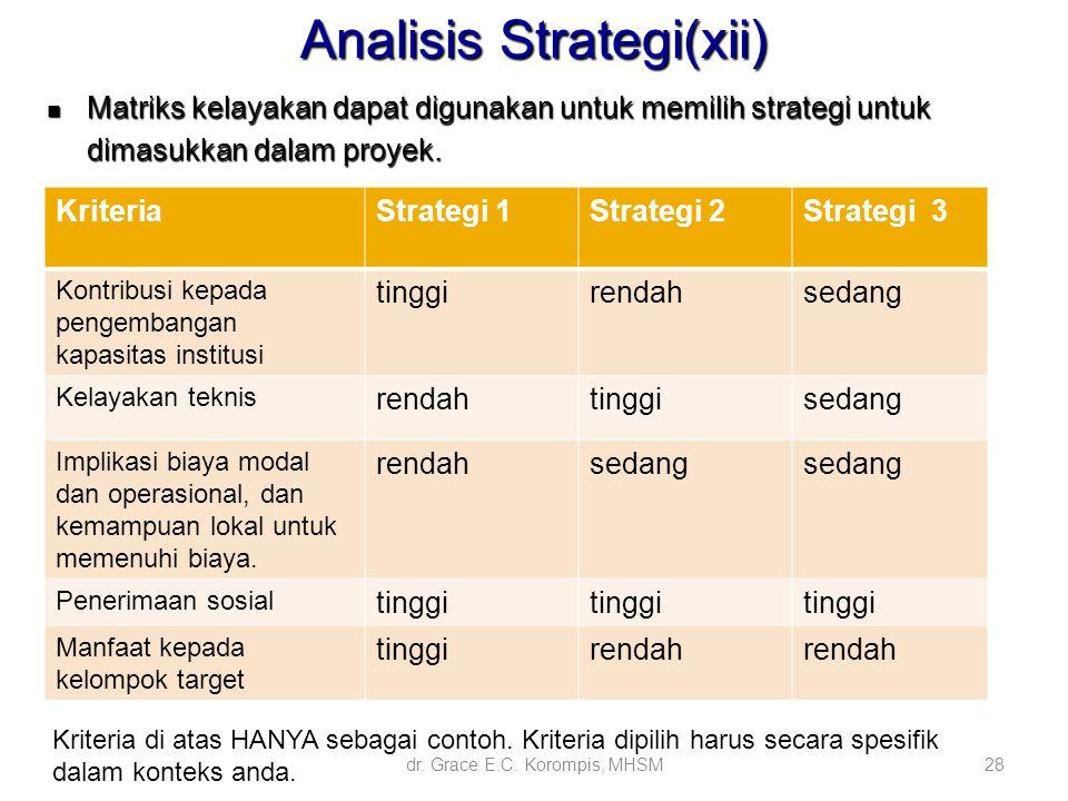 Analisis Strategi(xii)