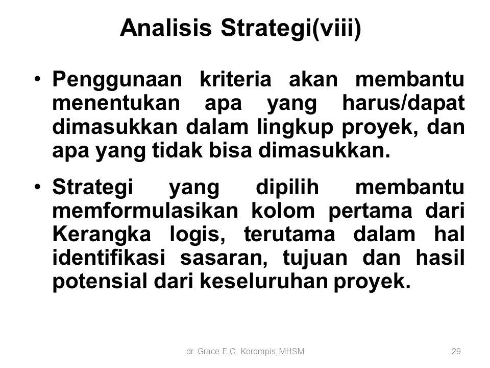 Analisis Strategi(viii)