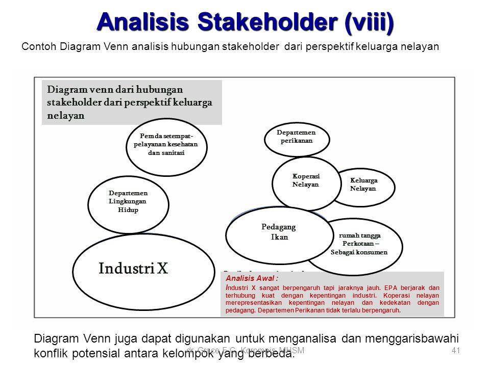 Analisis Stakeholder (viii)