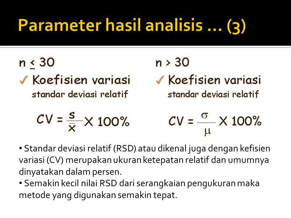 Parameter hasil analisis … (3)