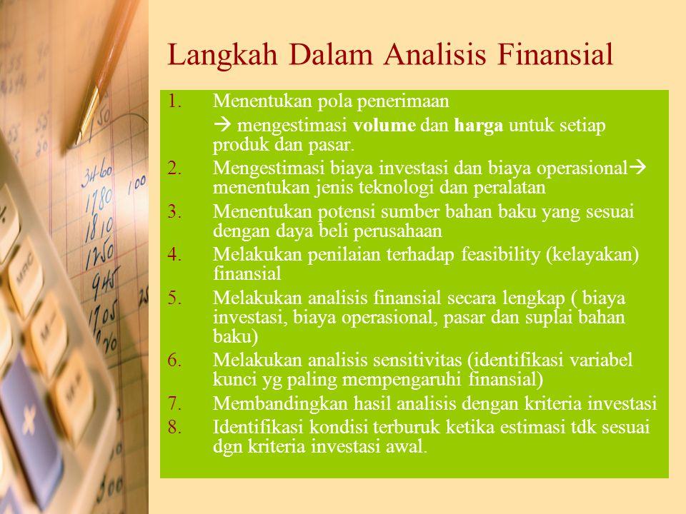 Langkah Dalam Analisis Finansial