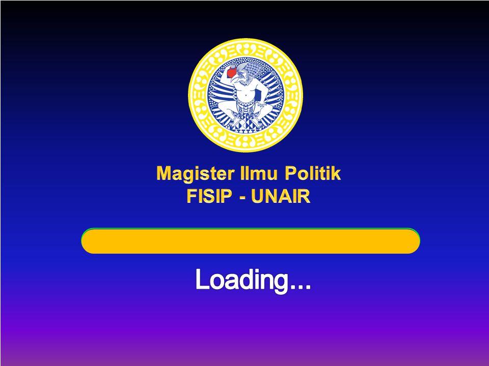 Magister Ilmu Politik FISIP - UNAIR Loading...