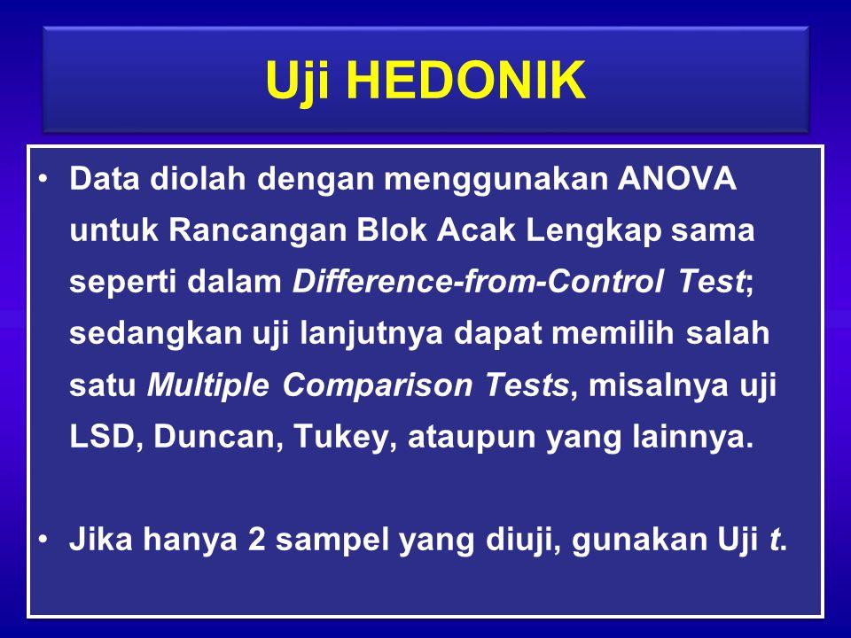 Uji HEDONIK