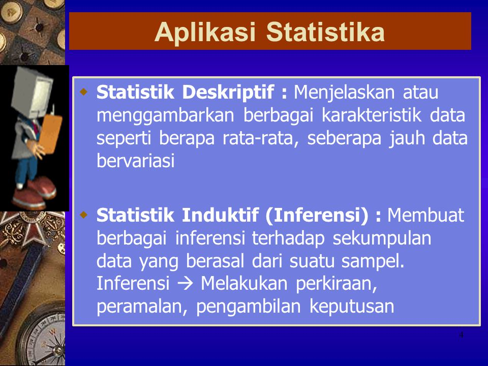 Aplikasi Statistika