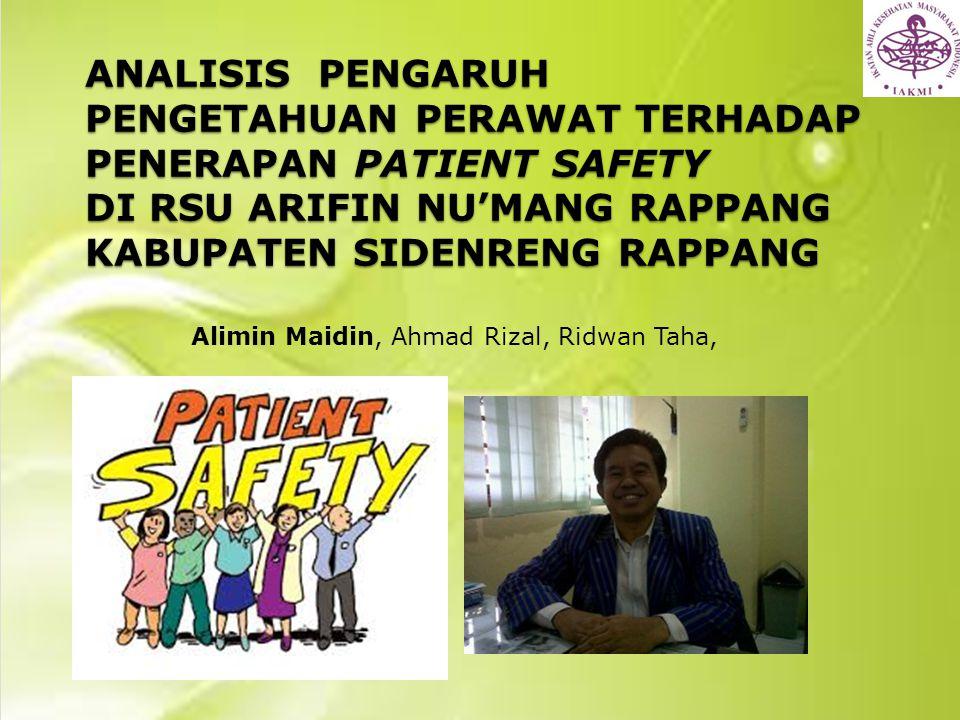 Alimin Maidin, Ahmad Rizal, Ridwan Taha,