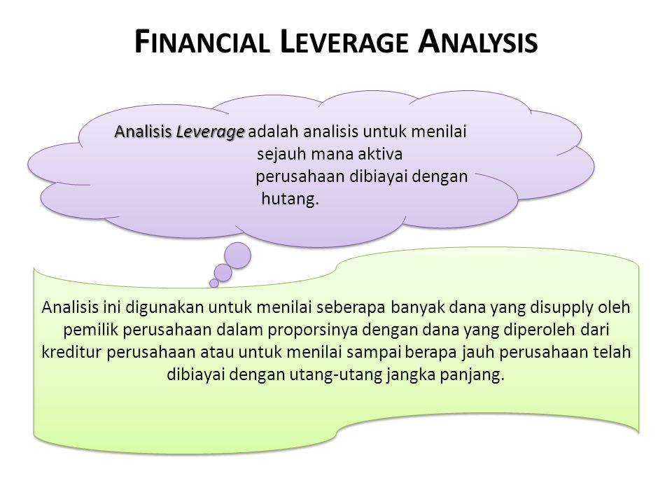 Financial Leverage Analysis