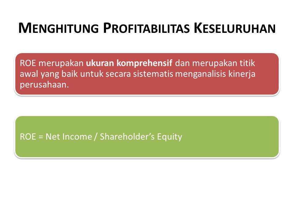 Menghitung Profitabilitas Keseluruhan