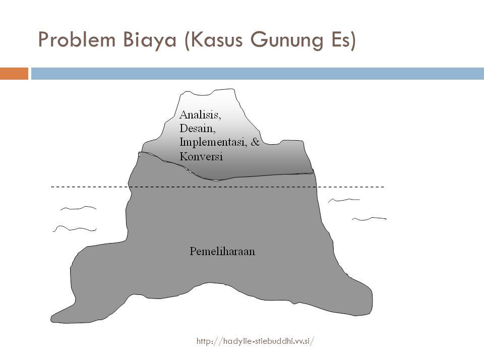 Problem Biaya (Kasus Gunung Es)