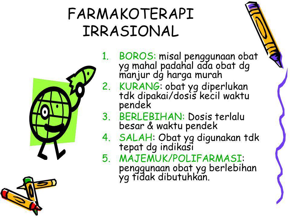 FARMAKOTERAPI IRRASIONAL